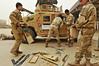 Iraqi mechanics keep humvees rolling (USF-I Advise and Train) Tags: iraq maintenance humvee mechanic diyala 25thinfantrydivision 4thbattalion 109thmpad kirkushmilitarytrainingbase operationnewdawn usdivisionnorth 2ndadviseandassistbrigade brigadesupportbattalion 5thiraqiarmydivision sgtshawnmiller taskforce225 21stbrigade