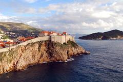 Dubrovnik (Mini Mel) Tags: day cloudy croatia citywalls dubrovnik adriatic ragusa hrvatska lokrum lovrijenac mrtvozvono