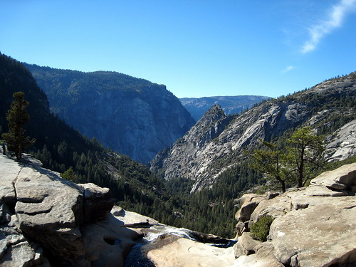 The View from Nevada Falls