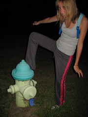 dance like no ones watching (iimakewishes) Tags: girl hydrant fire dance peeing