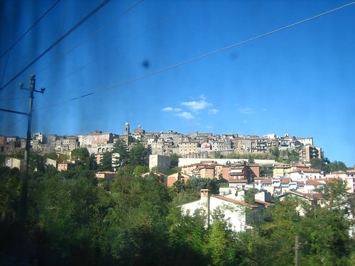 Shot from the train window