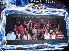Our Tower of Terror pic; we're in the top row. (10/07/07)