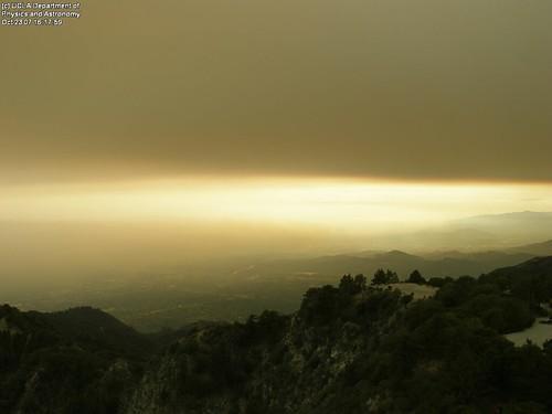 Mt. Wilson webcam image - 2007-10-23 16:17