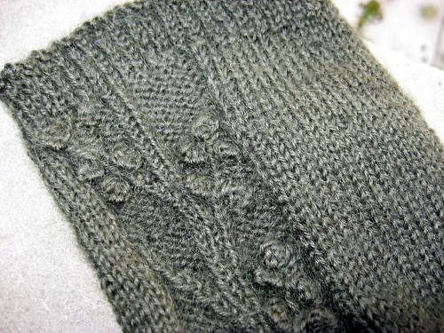 Rambling Vine sock