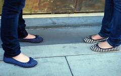 ... & III (nicolemariedev) Tags: shoes cinnamon emma santanarow thewall balletflats
