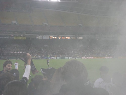Smoke Bombs Go Off - DC ties Chicago 2-2