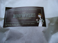 "packaging, les brownies ""reservoir"""
