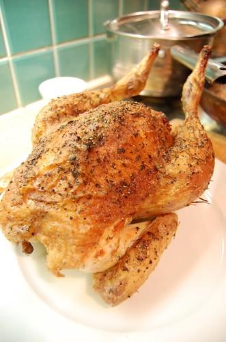 Roast Chicken by tostadora.
