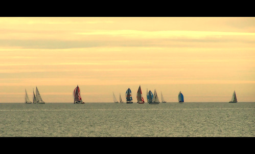 Sailing boats in Caorle (Venice)