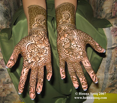 Mehnaz Bridal Mehndi Palms