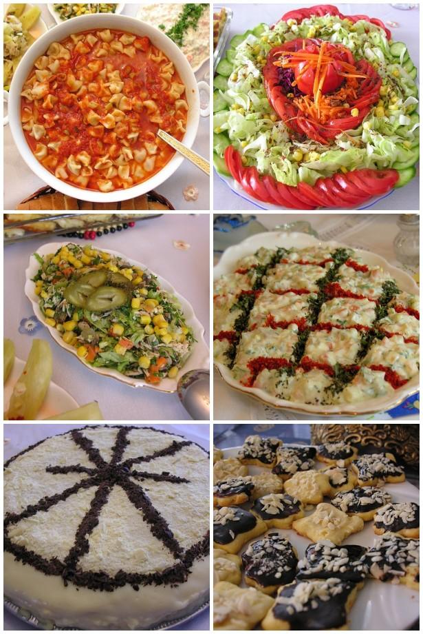 Sahra- Kayseri Mantısı, Sahra- Amonyaklı Yaş Pasta, Sahra- Bademli Büskivi