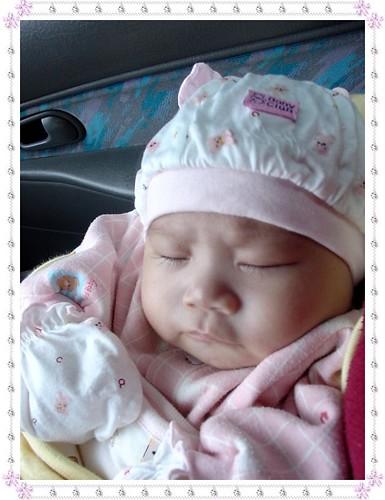 睡覺的表情是不是很可愛呢?