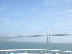 Bay Bridge from Sausalito Ferry