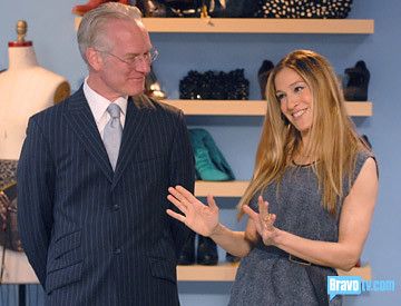 SJP on Project Runway