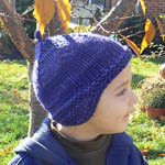 Little Turtle Knits + Elliebelly: Treasure Yarn + Rushty! Pattern = One Perfect Hat!
