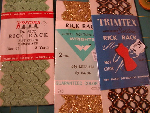 vintage rick rack