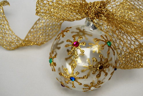 fanciful starburst ornament