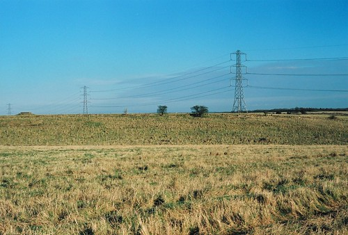Pylons in the landscape