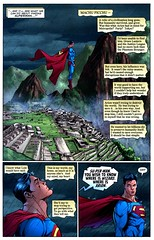 superman in MachuPicchu