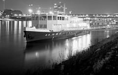Danube (jandudas) Tags: old city white black night river boat europe view capital central eu historical slovensko slovakia duna bratislava danube slowakei donau slowakije pozsony szlovkia eslovaquia dunaj pressburg slovaquie slovacchia sowacja donauradwanderweg c