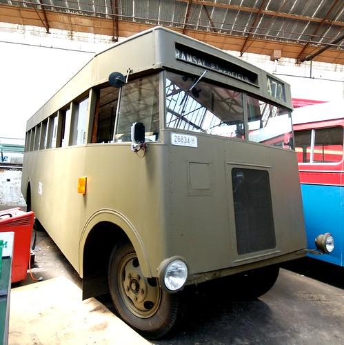 Austerity Bus