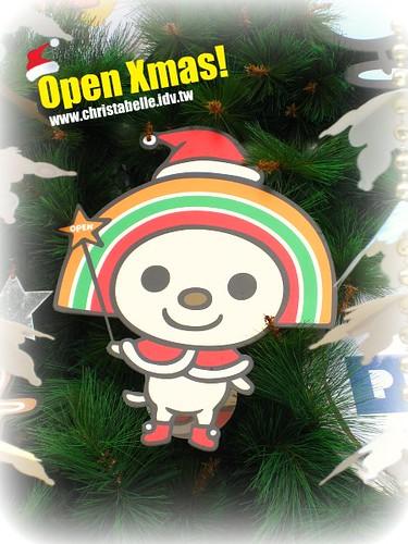 open小將耶誕樹