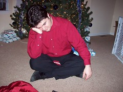 Trying to take family pictures is hard! (MabyCakes) Tags: christmas preparations 2007