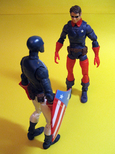 Patriot and Bucky