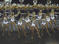 Golden Girls (Sabreur76) Tags: louisiana cheerleaders elvis explore lsu batonrouge vicen goldengirls tigerband marchingbands mikethetiger tigerama feli tigerama07 sabreur76 vicenfeli