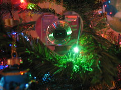 The Camera of My Heart (Sandy's Candy) Tags: christmas camera mirror heart ornament christmasornament creativephoto eyecandyart