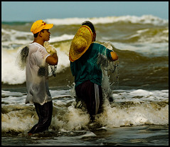 Life's Uncertainties (_DSC7171) (Fadzly @ Shutterhack) Tags: travel vacation people holiday hot nature water weather danger catchycolors asian seaside interestingness dangerous movement marine asia published waves fishermen zoom action natureza natur culture photojournalism natuur fishnet natura nikond50 explore tsunami telephoto human monsoon malaysia tropical tropic waters cinematic seashore asean terengganu equator humid marang publish mys mensen ماليزيا الناس maleisië マレーシア mennesker explored uncertainties 马来西亚 sigmaapo70200mmf28exdghsm nikonstunninggallery kalikasan shutterhack southcinasea helpsaveourearth beautifulhour