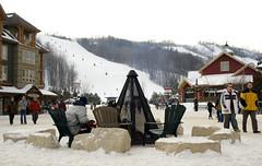 Warming up... (rbraeken) Tags: snow ontario collingwood bluemountain bluemountainvillage