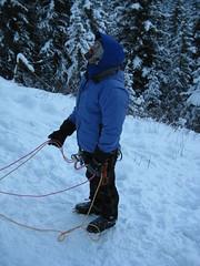 IMG_1960.JPG (cdine) Tags: snow canada cold rockies frozen waterfall climbing alberta mountaineering canmore iceclimbing waterice mountaineers canadianrockies eyefi gearslingers