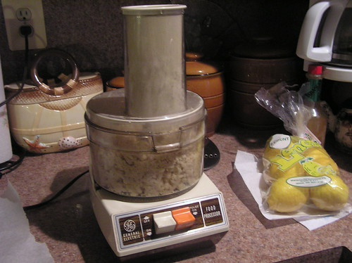 Old School Food processor