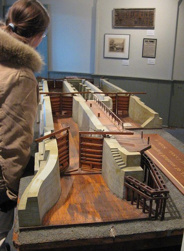 Model of the Canal Lock System