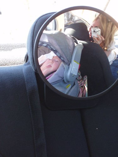 Sleeping in the car after the zoo
