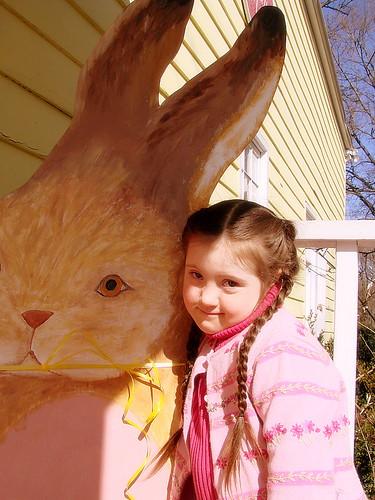 Mr. Bunny at the Bunny Hole