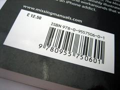Streepjescode van iPhone-boek.