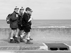 Scouts Toujours / Return of the Scouts (Yann Le Biannic) Tags: beach scouts omaha normandie normandy marins