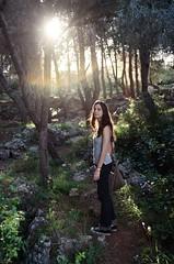 (aragonzo) Tags: trip trees light sunset sun forest fun woods kodak path walk jerusalem free 200asa follow explore nophotoshop friday tal discover