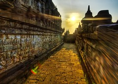 The Exposed Temple Hall and the Third Stage of Enlightenment (Stuck in Customs) Tags: pictures panorama sun indonesia spiral temple photography nikon perfect energy shoot photographer shot photos buddha magic details d2x perspective images monks stunning pro meditation jogjakarta capture picturesque siren description hdr levels inspiring borobudur contemplation reliefs ravishing mesmeric personable rayes stuckincustoms treyratcliff
