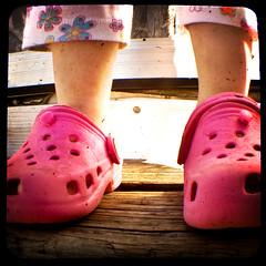 Crocs and Capris