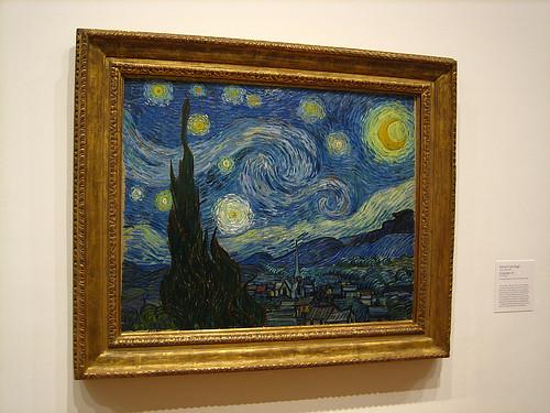 Noche estrellada, Vicent van Gogh
