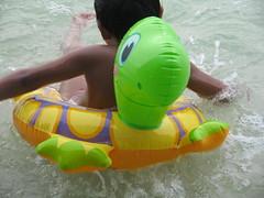 Floater (annavi_a) Tags: sea summer beach paradiseisland floater