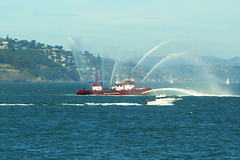 Fireboat (Marina District, California, United States) Photo
