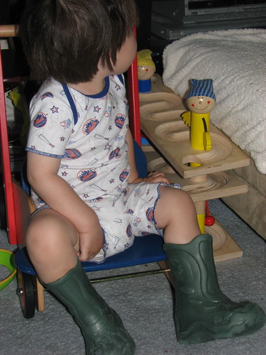 Jack and his boots