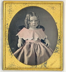Girl in pink by Chase (Mirror Image Gallery) Tags: chase daguerreotype tinteddaguerreotype