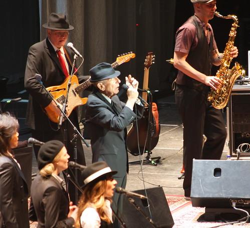 Leonard Cohen The Webb Sisters and Dino Seldo