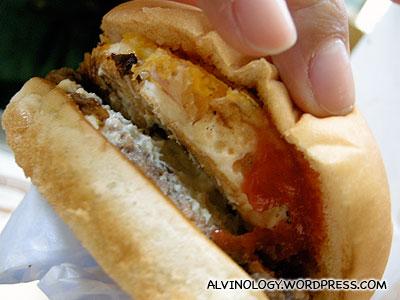 My delicious burger