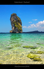 Poda Island - Thailand (farbspiel) Tags: ocean travel blue vacation holiday seascape green beach water rock photoshop relax landscape geotagged thailand photography seaside sand nikon asia southeastasia tourist journey handheld mystical recreation atthebeach nikkor sands dri krabi tha settings summerholiday workflow postprocessing dynamicrangeincrease 18200mm d90 amazingthailand podaisland scenicwater holidaydestination anawesomeshot processinginformation hdrprocessing khopoda topazadjust exposurefusion topazdenoise klausherrmann nikonafsdxnikkor18200mm13556gedvr geo:lat=797432600 geo:lon=9881105000 hdrpostprocessing
